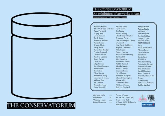 The Conservatorium Invite